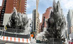 2nd avenue brooklyn photos | Second Ave. subway blast sends debris eight stories high