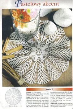 View album on Yandex. Crochet Diagram, Crochet Motif, Crochet Doilies, Knit Crochet, Doily Patterns, Crochet Patterns, Crochet Ideas, Red Rooster, Album