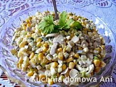 Kuchnia domowa Ani: Sałatka pieczarkowa