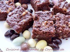 Gâteau aux biscottes chocolat et noix http://www.carmen-cuisine.com/article-gateau-aux-biscottes-chocolat-et-noix-117483719.html