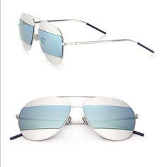 "Temp Price Christian Dior """"Split"""" Sunglasses"