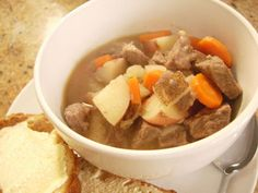 Quick and Easy Beef Stew - I'm going to try this one today.
