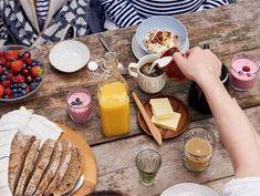 Helppoa mökkiruokaa | Valio Dairy, Cheese, Food, Essen, Meals, Yemek, Eten
