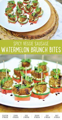 Spicy Veggie Sausage