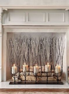 Add drama on a grand scale to a mantel or tabletop with our Fedora Candleholder.