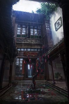 Wang Rui Concept Art and Illustration