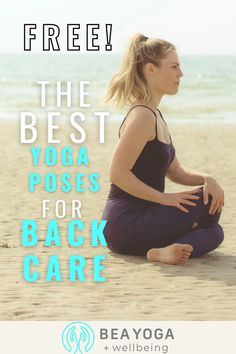 A 5 day free challenge with my top 5 postures for back pain. Come and try, its 5 minute or less a day and your back will thank you!