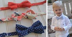 Looking for that final touch for your little guy's special day? Look no further! These bow ties are super sweet and are available in a variety of colors and patterns. The pre-tied bow ties come in your choice of 10 charming patternsGreat for babies through age 8, these ties are will make your little guy stand out in the crowd. Perfect for family photos, wedding, graduations and many other special occasions. Adjustable neck strap has Velcro closure to make it easy to adjust to size and easy…