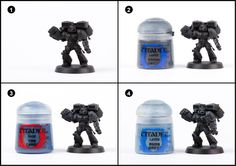 Tutorial: How to Paint Blood Angels Death Company - Tale of Painters