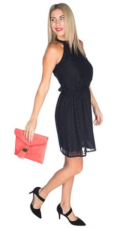 You can never have too many little black dresses. They'e timeless, classic, wardrobe staples. This gorgeous piece is no exception, its flattering fit, unique style and amazing price point make it a no brainer. You know you'e going to look incredible wearing it so go ahead and treat yourself, you deserve it!