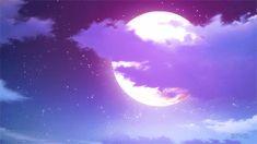 애니 속 밤하늘.gif : 네이버 블로그