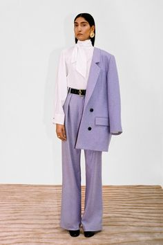 Mara Hoffman Fall 2020 Ready-to-Wear Fashion Show - Vogue Mara Hoffman, New York Fashion, High Fashion, Fashion Hats, Daily Fashion, Street Fashion, Spring Fashion, Fashion Dresses, Business Dress