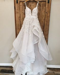 I'm just to leave this here, just for you 😘✨ . . . #cameoandcufflinks #weddinggown #weddingdress #weddinginspo #weddingideas Bridal Gowns, Wedding Gowns, Hayley Paige Bridal, Horse Hair, Designer Collection, Ball Gowns, Tulle, Couture, Formal Dresses