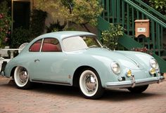 Porshe 356 I would love to have a car like this SOMEDAY!!!! MAYBE!!!!!!!