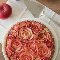 簡単なのに華やかな【バラのアップルパイ】チュートリアル