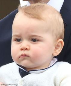 Prince George of Cambridge. So cute. Makes you wonder what he thinks of all this fan fare.