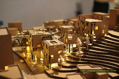 School of Architecture Graduation Exhibition Model. Social Housing Architecture, Architecture Artists, Architecture Portfolio, Architecture Drawings, School Architecture, Interior Architecture, Exhibition Models, Community Housing, Arch Model