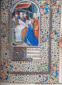 Book of Hours, MS M.1066 fol. 71r - Images from Medieval and Renaissance Manuscripts - The Morgan Library & Museum