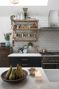 Kitchen Living Rooms Kitchen extension case study: open-plan kitchen extension with industrial touches Small Open Plan Kitchens, Open Plan Kitchen Dining Living, Living Room Kitchen, Dining Room, Kitchen Chairs, Quirky Kitchen, Industrial Style Kitchen, Kitchen Ideas, Open Kitchen