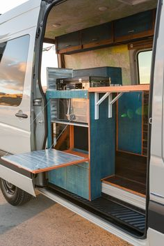 An overview of the sustainable aspects of our Sprinter Van conversion and how we incorporated environmentally-friendly materials and methods into our campervan. Sprinter Van Conversion, Camper Conversion, Motorhome, Vw Camping, Camping Stuff, Glamping, Real Milk Paint, Build A Camper Van, Astro Van