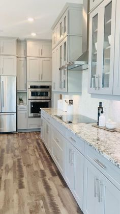 Diy Kitchen Remodel, Diy Kitchen Cabinets, Kitchen Cabinet Design, Modern Kitchen Design, Home Decor Kitchen, Interior Design Kitchen, Kitchen Remodeling, Kitchen Counters, Interior Modern