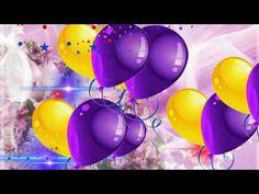 Фон для видеомонтажа С Днем Рождения HD - YouTube