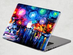 Welcome to my shop.  This decal fits Macbook, Macbook Pro and Macbook Air perfectly... Also you can use it in your laptop, car, kitchen, wall or
