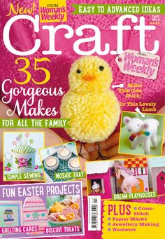 1000 images about craft magazine covers on pinterest for Craft ideas for women