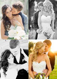 Позы для свадебной фотосессии летом