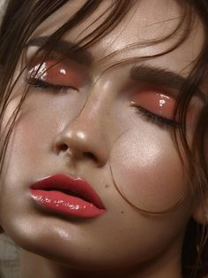High fashion sheen - take it to the next level with glossy lids www.bornwithit.com.au