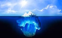Tip of the Iceberg! We see only about of an iceberg.the rest is underwater hence the reason the Titanic could not see the iceberg. Really scary. Alaska, Beautiful World, Beautiful Places, Amazing Places, Glaciers Melting, Natural World, Science Nature, Science Pics, Weird Science