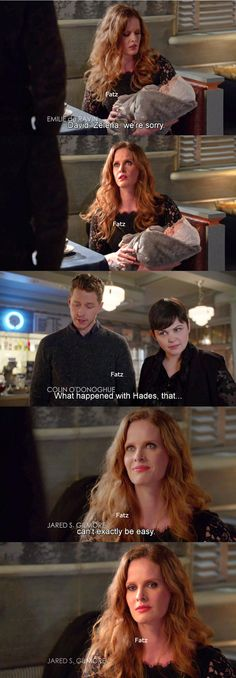 """David, Snow White and Zelena - 5 * 22 """"Only You"""""""