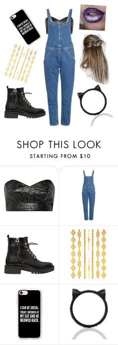"""Untitled #218"" by fayleegrace ❤ liked on Polyvore featuring Toga, M.i.h Jeans, Kendall + Kylie, Casetify and Kate Spade"