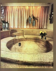 Conversation pit (from an early seventies porn set...)