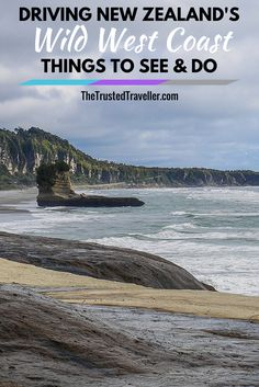 The beach at the end of the Truman Track near Punakaiki on New Zealand's Wild West Coast - Driving New Zealand's Wild West Coast: Things to See & Do - The Trusted Traveller