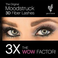 Whether you're feeling subtle or sassy, defiant or classy, the new Moodstruck 3D Fiber Lashes+ will help you go wherever your mood takes you.