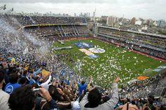 @Boca Estadio Alberto J. Armando #9ine