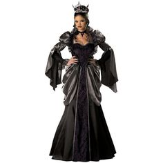 Evil Queen Costume Adult Wicked Masquerade Halloween by CostuMest