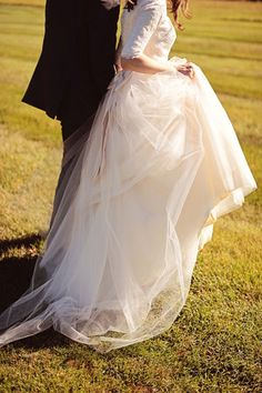 Long Sleeved Modest Wedding Dress Custom Made by Avail & Company