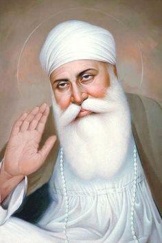 Guru Nanak Photo, Guru Nanak Ji, Nanak Dev Ji, Guru Granth Sahib Quotes, Shri Guru Granth Sahib, Happy Dasara Images Hd, Founder Of Sikhism, Sikh Quotes, Gurbani Quotes