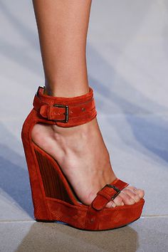 Belstaff Spring 2013 #shoes #wedges