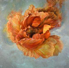 """carmelo blandino; Mixed Media, Painting """"Falling Into Grace """""""