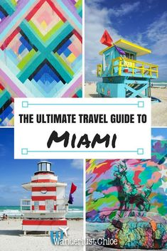 From South Beach and the Wynwood Walls, to Little Havana, find out the top things to do and the best restaurants, bars and hotels in Miami, Florida. Florida Keys, Florida Travel, New Travel, Ultimate Travel, Miami Florida, Travel Goals, Holiday Travel, Travel Usa, Florida Vacation