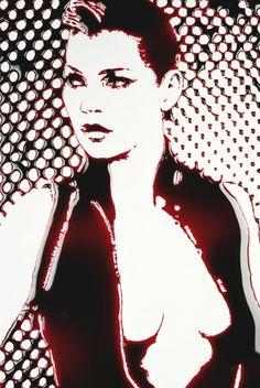 Kate (Blood), 2011 by Vik Muniz