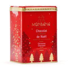 """Monbana Chocolatier - Chocolat en poudre """"Noël"""""""