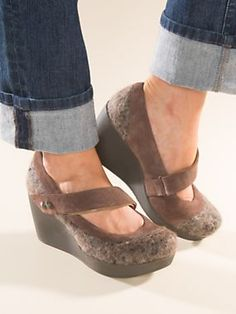 Women's OTBT Wooly Wedges | Mary Janes | Sahalie