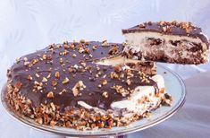 Greek Sweets, Greek Desserts, Cold Desserts, Party Desserts, How To Make Cake, Food To Make, Food Network Recipes, Food Processor Recipes, Sweet Recipes