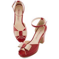 92624449de45 Bait Footwear Vintage Inspired Bowed and Boating Heel 1940s Shoes