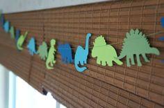 Decoración de dinosaurios para cumpleaños -