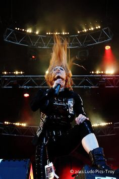 Angela Gossow--the best female vocalist in metal hands down!